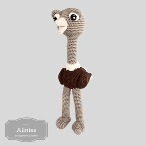 Struisvogel haakpatroon