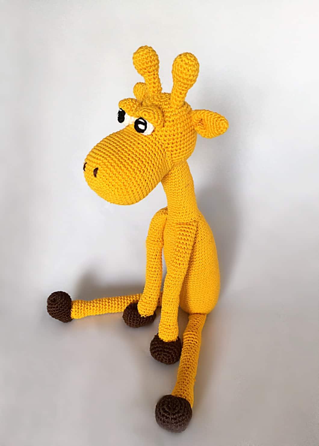 Haakpatroon Giraffe Design By Alinies