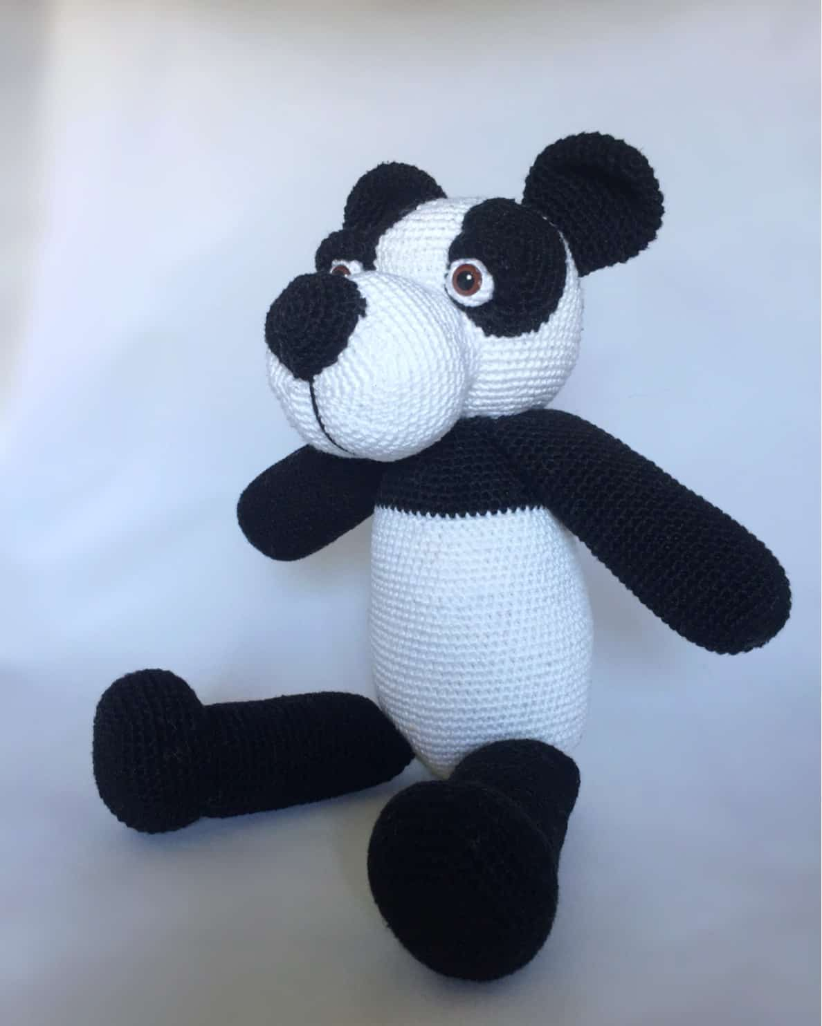 Haakpatroon Panda Design By Alinies