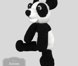 Nieuw haakpatroon Panda